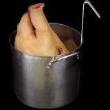 PIG HEAD IN POT-STATIC