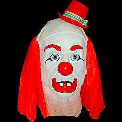 FELIX CLOWN HEAD-WITH HAIR