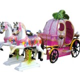 CARROZZA CON DUE CAVALLI MEDI