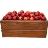 Ящик яблок полный