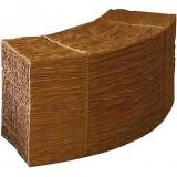 Соломенное сиденье для пикника изогнутое
