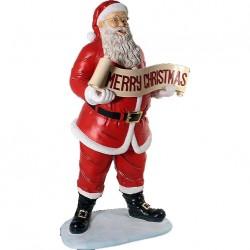 Санта со свитком