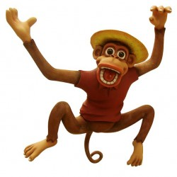 Висящая обезьяна