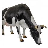 Корова с опущенной головой