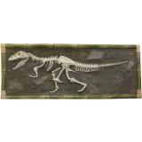 Скелет тиранозавра настенный