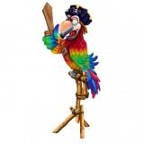 Попугай пират с мечом