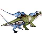 Тентозавр атакуемый