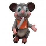 Мышь с ножом