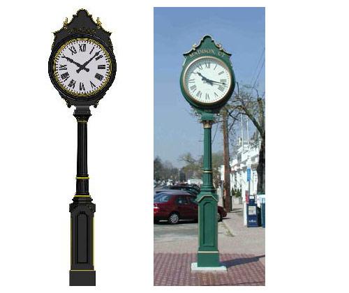 Купить в москве уличные часы часы мужские в подарок до 5000