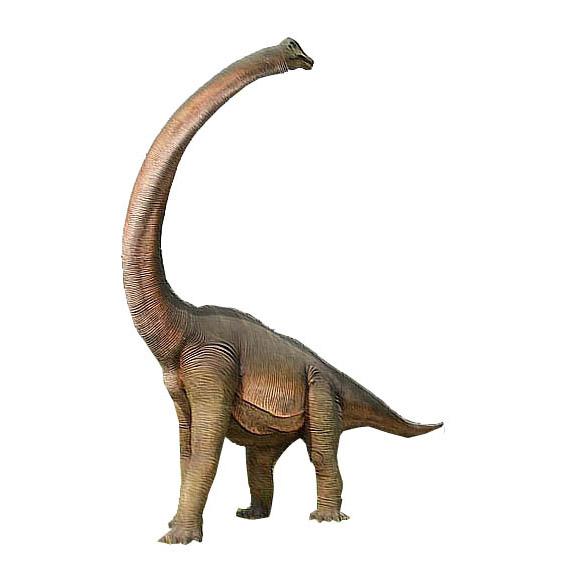 Брахиозавр с повернутой шеей