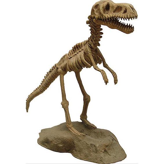 Скелет динозавра на подставке