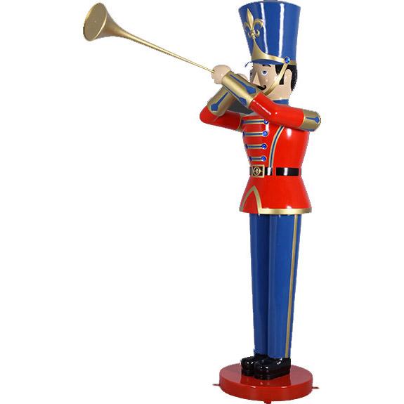 Cолдатик с трубой 1,22 метра