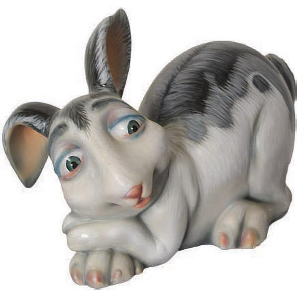 Кролик лежащий