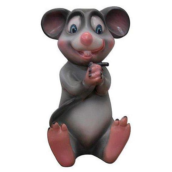 Мышь держащая хвост