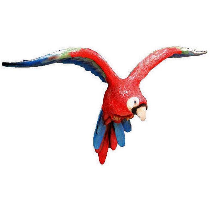 Попугай летящий