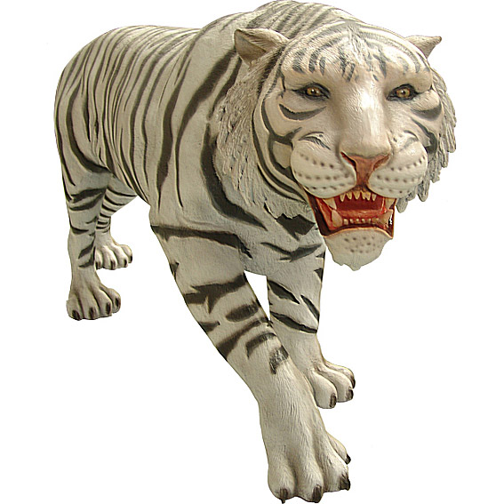Тигр бенгальский (белый)