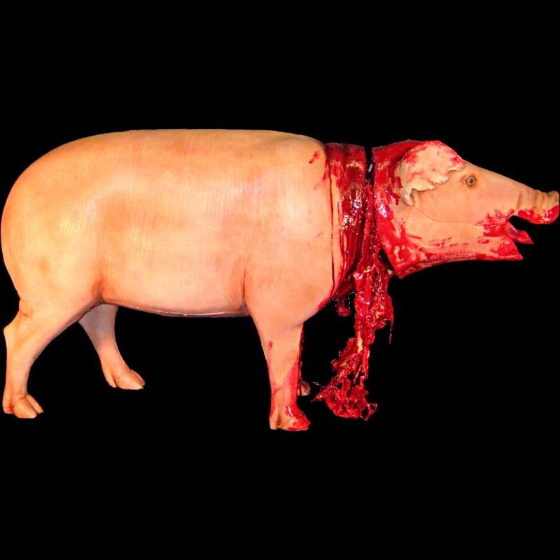 PIG STANDING-FRESH FINISH