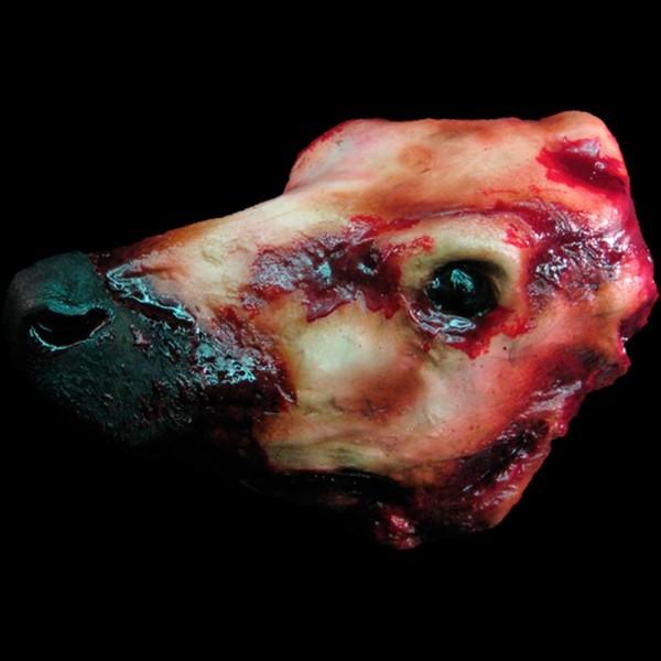 STEER HEAD-BLOODY FINISH